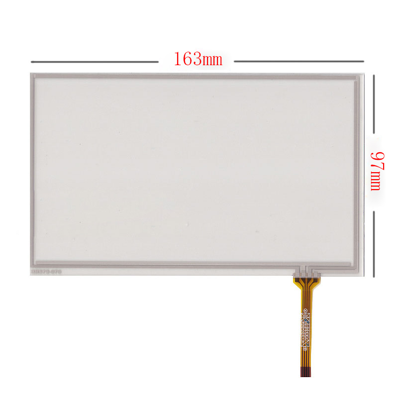 New 7'' Touch Screen Digitizer Panel For Texet TB-710HD TB-740HD 163*97mm