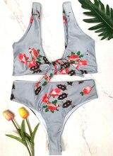 Strój Kąpielowy Bikini z Wysokim Stanem SARAH
