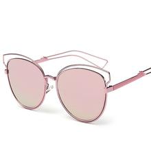 Moda feminina retro europa e américa do verão as mulheres cat eye  sunglasses shades óculos óculos polarizador 5cd42b9449