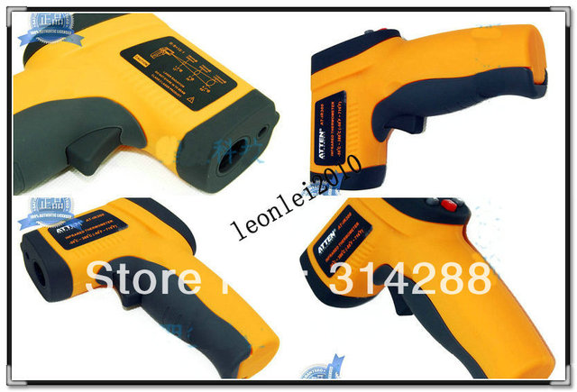 5 pc AT-IR300 Non-Contact IR Infrared Digital Temperature Gun Thermometer Laser Point