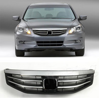 New OEM Chrome Front Bumper Upper Mesh Grill Grille For Honda Accord 2011 2012