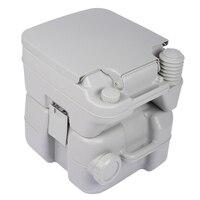 HOME 5 Gallon 20L Portable WC Toilet Flush Camping Porta Travel Outdoor Hiking Potty