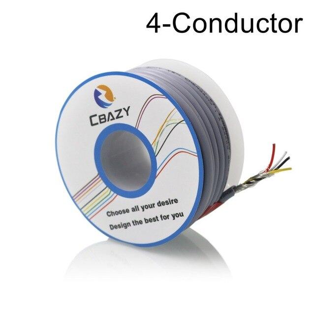 4C Grey 6M UL 2547 26 AWG Multi core control cable copper wire ...