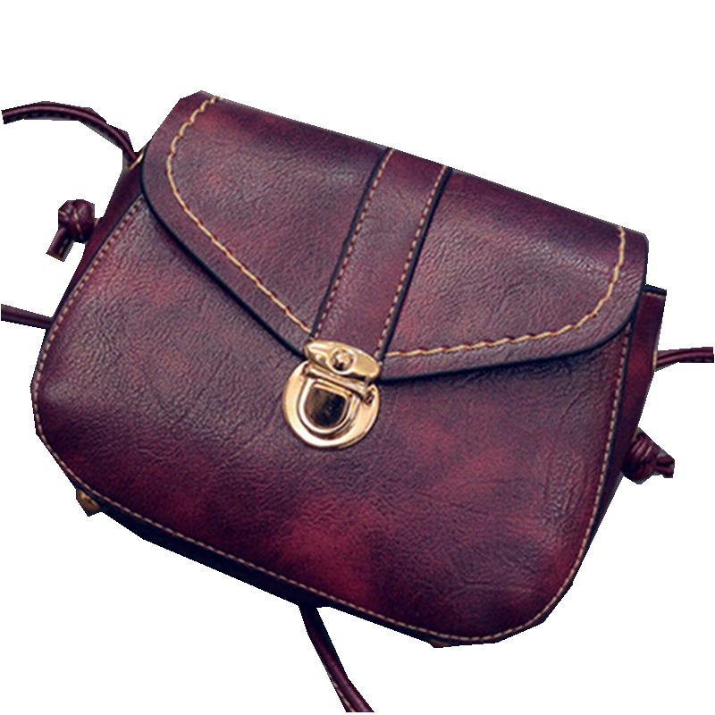 2016 New Hot Women Handbags Leather Cross Body Shoulder Bag Fashion Messenger 4 Colors Available Bolsas Femininas Mini Bag