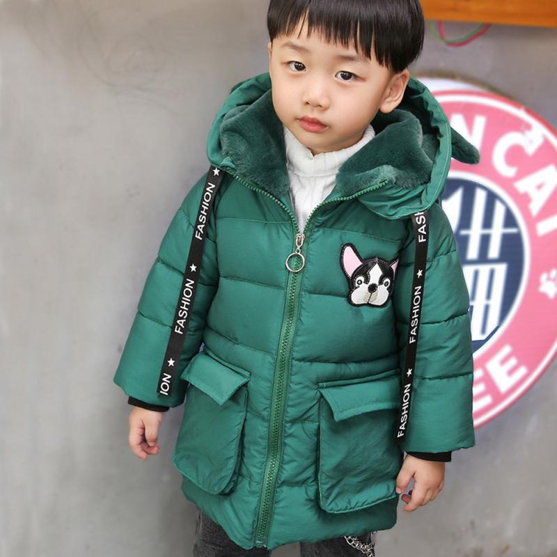 Baby Toddler Boys Girls Autumn Winter Hooded Coat Cloak Thick Warm Clothes NO2