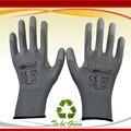Nmsafety 12 pares luvas de pu coating palm luva de segurança do trabalho