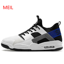 Vintage Sneakers 2018 Kanye West Fashion New Men Breathable Platform Casual Mesh Shoes Zapatillas Hombre Tenis Masculino