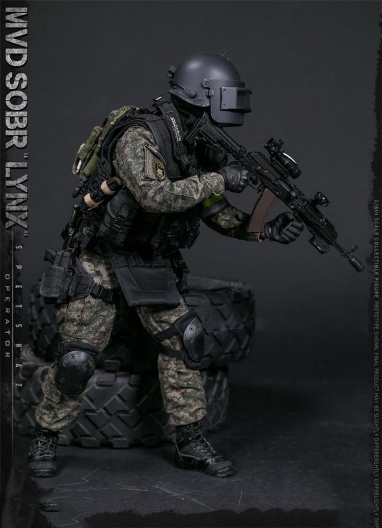 1//6 scale toy Russian Spetsnaz SOBR Yargin PYA Pistol