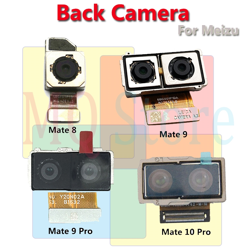 Original Big Main Back Rear Camera Flex Cable For Huawei P6 P7 P8 P9 P10 Lite Plus Mate 8 9 10 Pro Phone Parts Free Shipping