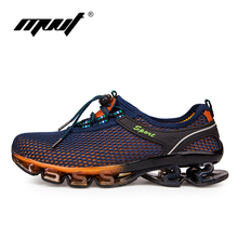 Super Cool breathable running shoes men sneakers bounce Cushioning outdoor sport shoes Professional Training shoes plus size