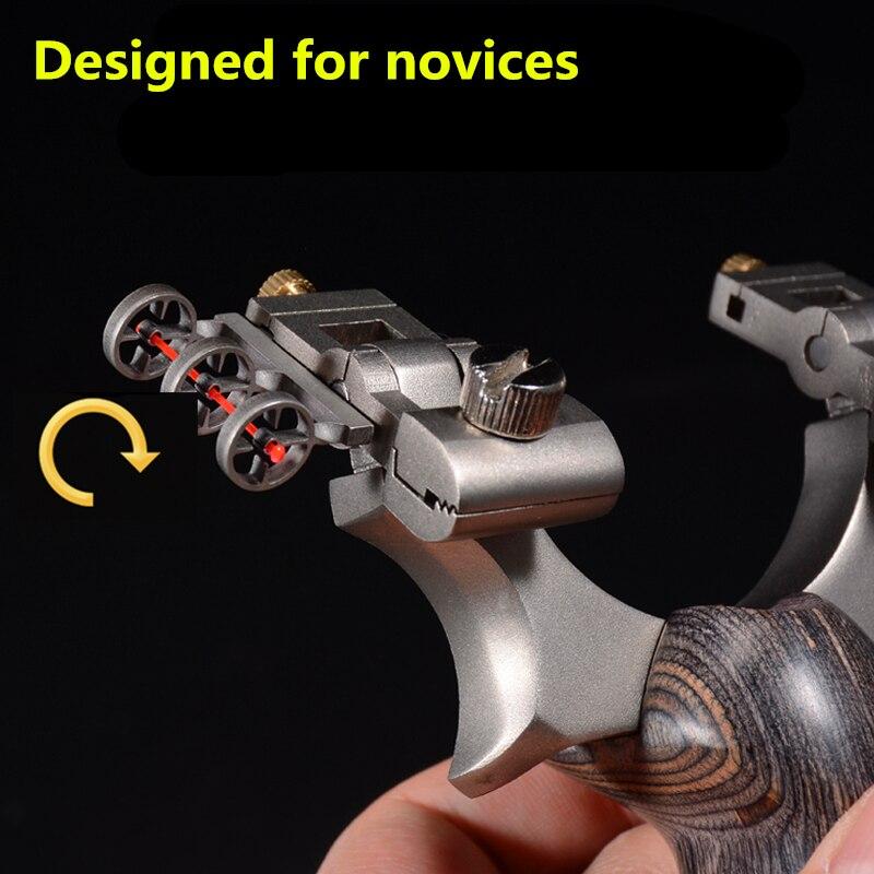 2019 novo estilingue aco inoxidavel mecanico apontando ponto de alta qualidade ao ar livre adequado para