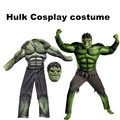 2017New Avengers Hulk dress for kids/ Fancy dress/Halloween Carnival Party Incredible Cosplay Boy Kids Clothing Decorations
