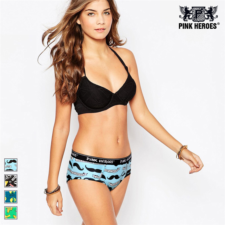 Pink Heroes Hot sale women s sexy panties seamless cotton breathable panty Hollow briefs Elegant girl
