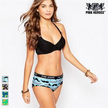 Pink Heroes Hot sale! women's sexy panties seamless cotton breathable panty Hollow briefs Plus Size girl brand underwear 604