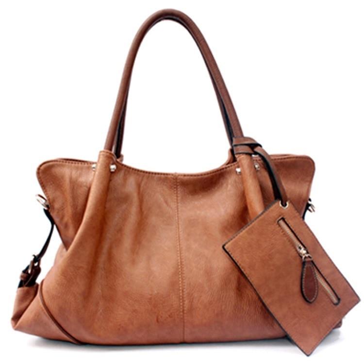 PASTE Lady Real Leather font b Handbags b font Vintage font b bags b font font