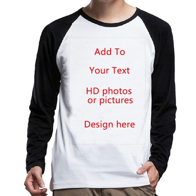 7fbeee074 JCCHENFS Customized DIY T shirt Print Your Own Design Photo Text Logo High  Quality Team Company Women Man Unisex Tops Tee Shirt