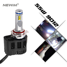 P6 LED Car Headlight LED Canbus 55W 5200LM 5000K 4000k 9006 9012  Headlight Conversion Kit