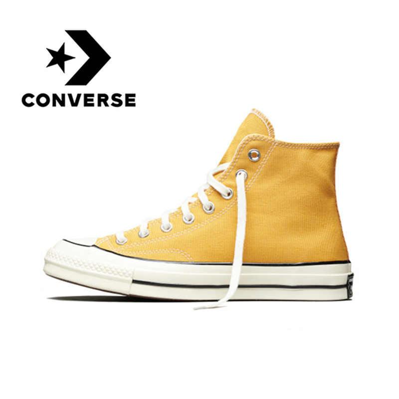 dfeec180350 Converse CTAS 70 Hi Skateboarding Shoes Original Classic Unisex Canvas High  Top Anti-Slippery Comfortable