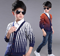 Boy Sweater New Autumn and Winter  Warm  Base Cardigan Sweater Kid Clothes
