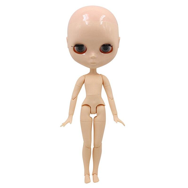 Blyth Boy bald ตุ๊กตาชาย Joint body ไม่มีวิกผมเหมาะสำหรับเปลี่ยนวิกผมและ make up สำหรับเธอ-ใน ตุ๊กตา จาก ของเล่นและงานอดิเรก บน   2