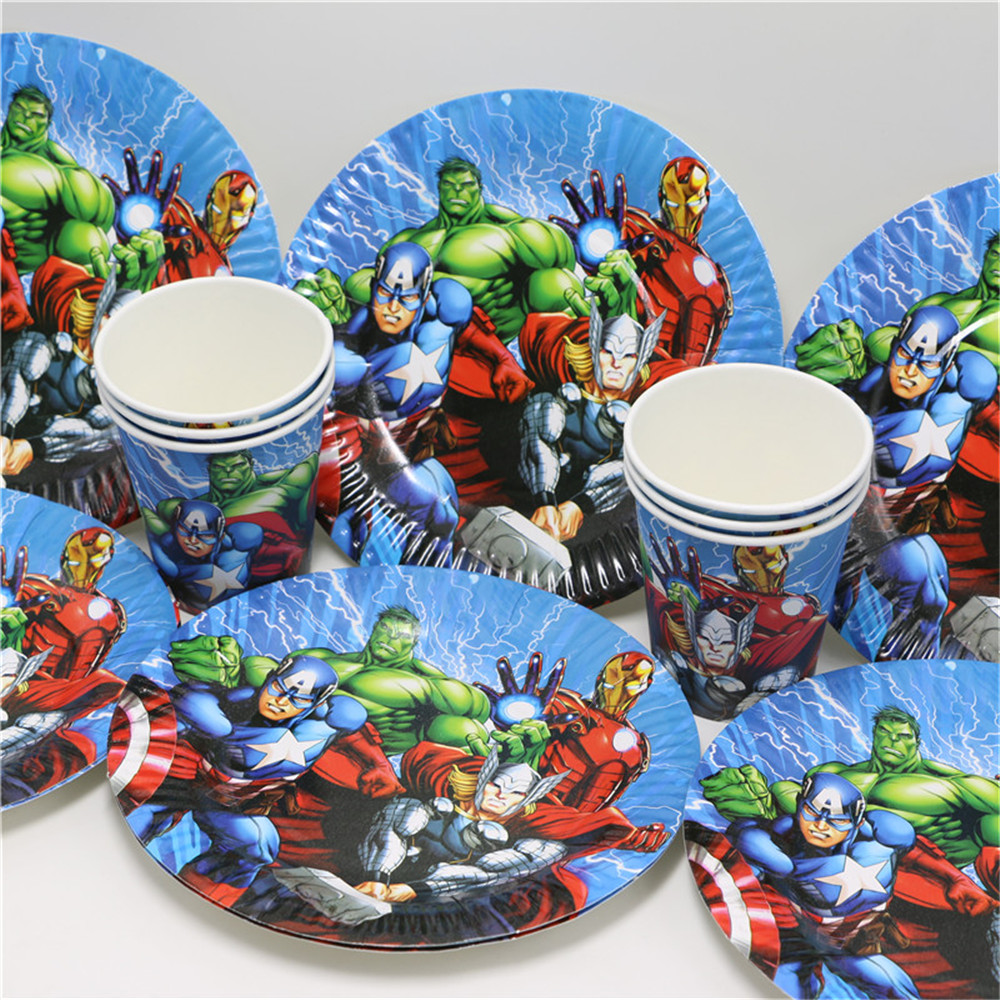 Avengers Party Decorations Online Buy Wholesale Cup Avenger From China Cup Avenger
