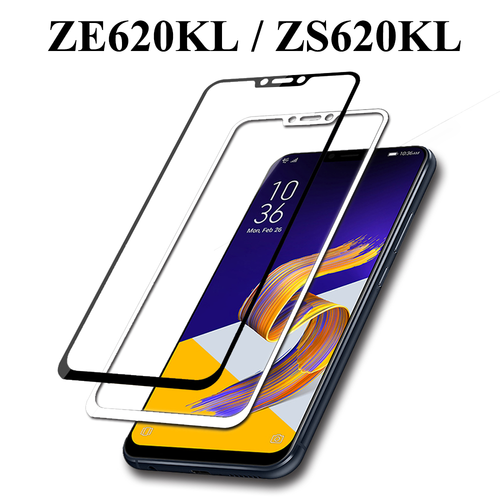 <font><b>ZE620KL</b></font> <font><b>Glass</b></font> For <font><b>ASUS</b></font> <font><b>Zenfone</b></font> <font><b>5</b></font> <font><b>ZE620KL</b></font> Screen Protector 5Z ZS620KL 2.5D Curved Edge <font><b>Tempered</b></font> Glas Full Cover Protection Film image
