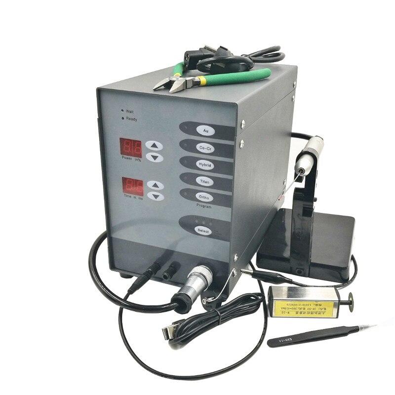 Soudeuse automatique d'arc d'argon d'impulsion tactile de commande numérique de Machine de soudure de Laser de tache d'acier inoxydable de 110 V/220 V pour souder nouveau
