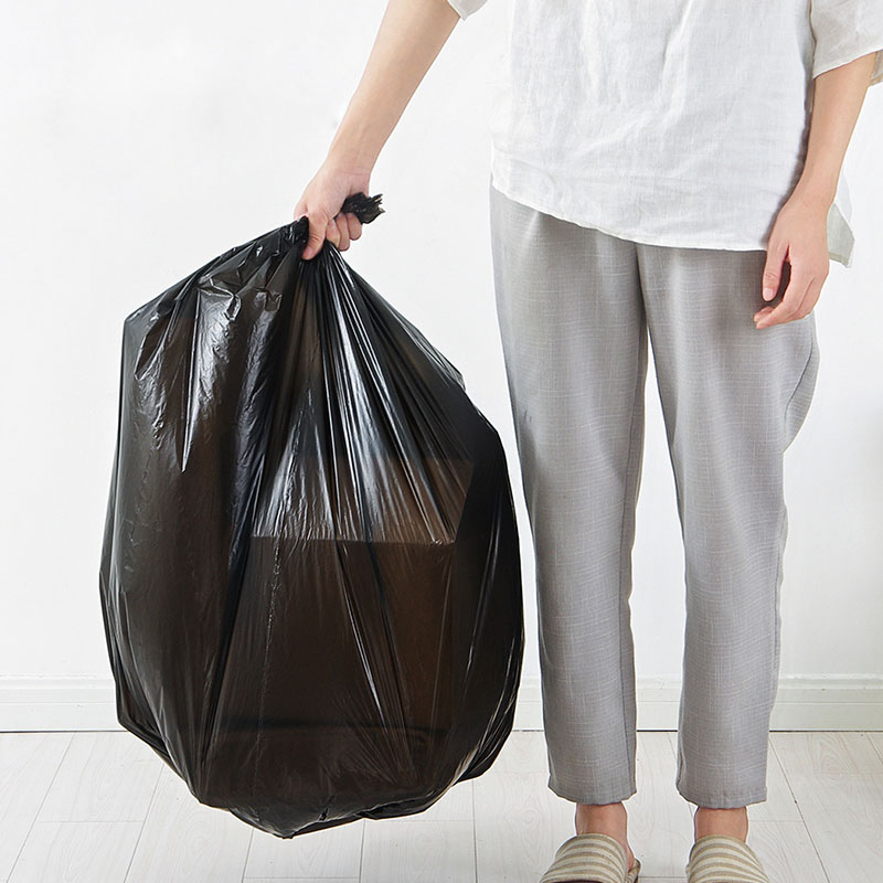 Vanzlife Creative Disposable Point-breaking Bag Household Thickening Large Garbage Bag Single Package Hotel Black Plastic Bag