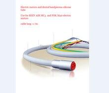 Dental silikon światłowodowe led tube dla mc3 bien-powietrza mikro silnik elektryczny mircomotor-krzemu