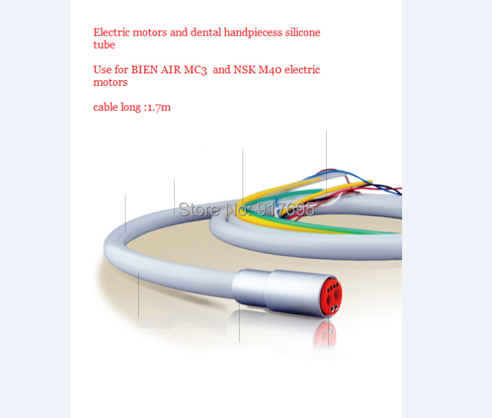 bien air mc3 - Dental Silicone Tube For Bien-Air MC3 Micro Motor Optic LED Electric Mircomotor - Silicon