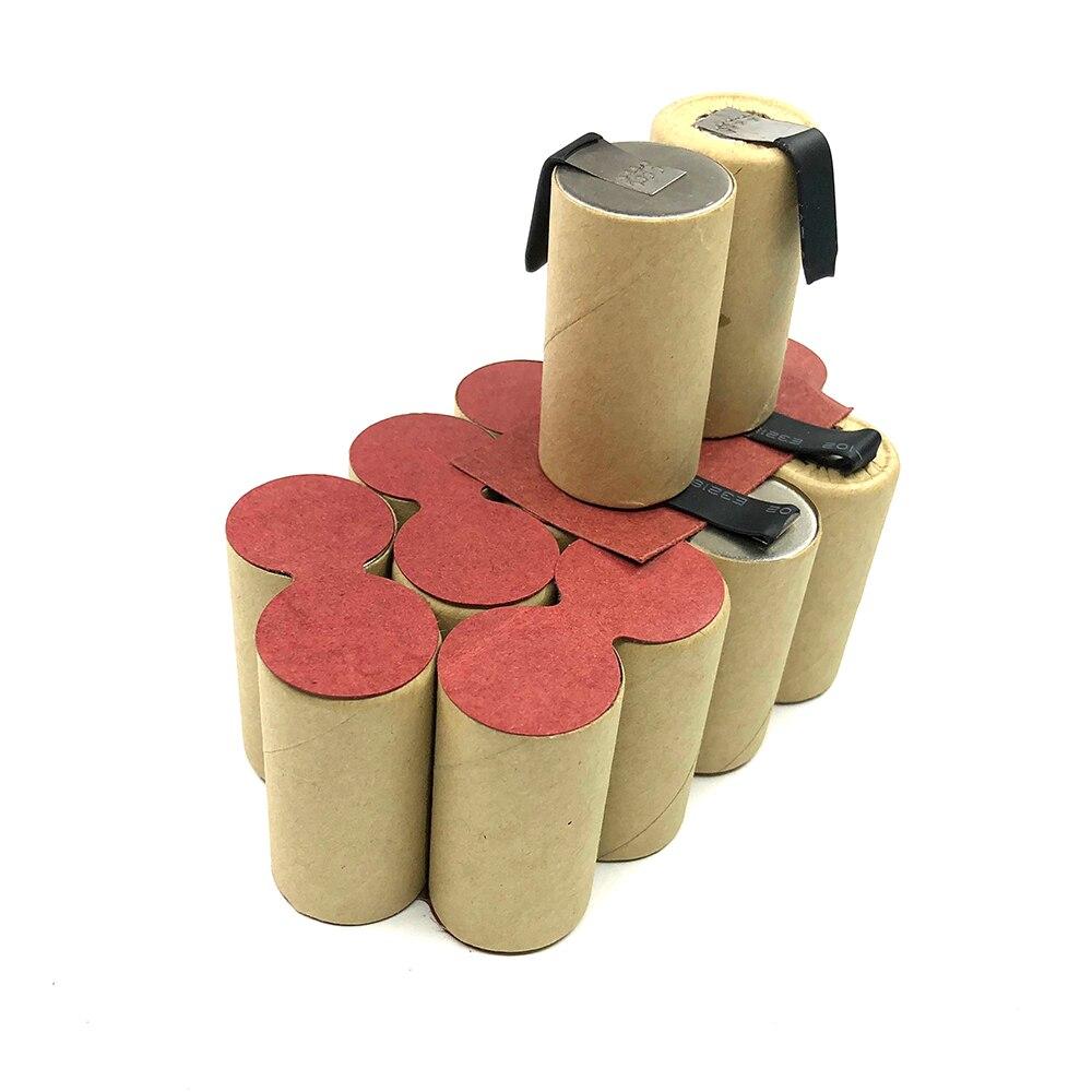 3000mAh pour Ferm 18V Ni MH batterie CD CDA1044 FASB-18 CDA6004 pour auto-installation