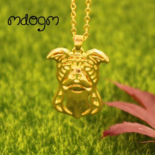 2018 cute american pitbull necklace dog animal pendant gold silver 2018 cute american pitbull necklace dog animal pendant gold silver plated jewelry for women female girls aloadofball Gallery