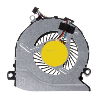 ORG Cooling Fan Laptop CPU Cooler Computer Replacement 4 Pins Wires Connector 812109-001 for HP Pavilion 15Z-A 15-AB 17-G 17-G01 image