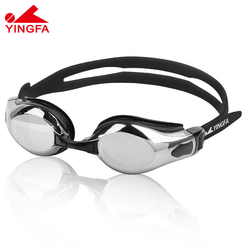 Yingfa Men Women Swim Glasses Anti Fog UV Protection Swim Eyewear Professional High definition Waterproof Swimming Goggles