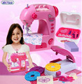New Arrival Simulation Mini Sewing Machine Girl House Scene Puzzle Toy For Children early education toys best birthday gift