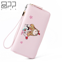 APP BLOG Brand Original Witch And Snow White Women's Wallet 2018 New Style Wallets Clutch Phone Bag Carteira Mujer Girl Purse