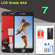 AAA+ Quality 4.7 LCD For iPhone 7 7G LCD Screen with 3D Force Touch Digitizer with Full Display Assembly Replacement A1660 internet force net intelligent 7g