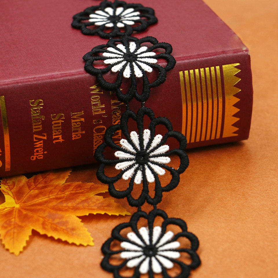4.6cm πλάτος λουλούδι δαντέλα - Τέχνες, βιοτεχνίες και ράψιμο - Φωτογραφία 2