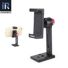 INNOREL PC5 alüminyum alaşım cep telefonu klip akıllı telefon tutucu tripod bağlama aparatı 360 derece ayarlanabilir cep telefonu kelepçe iPhone 7 8