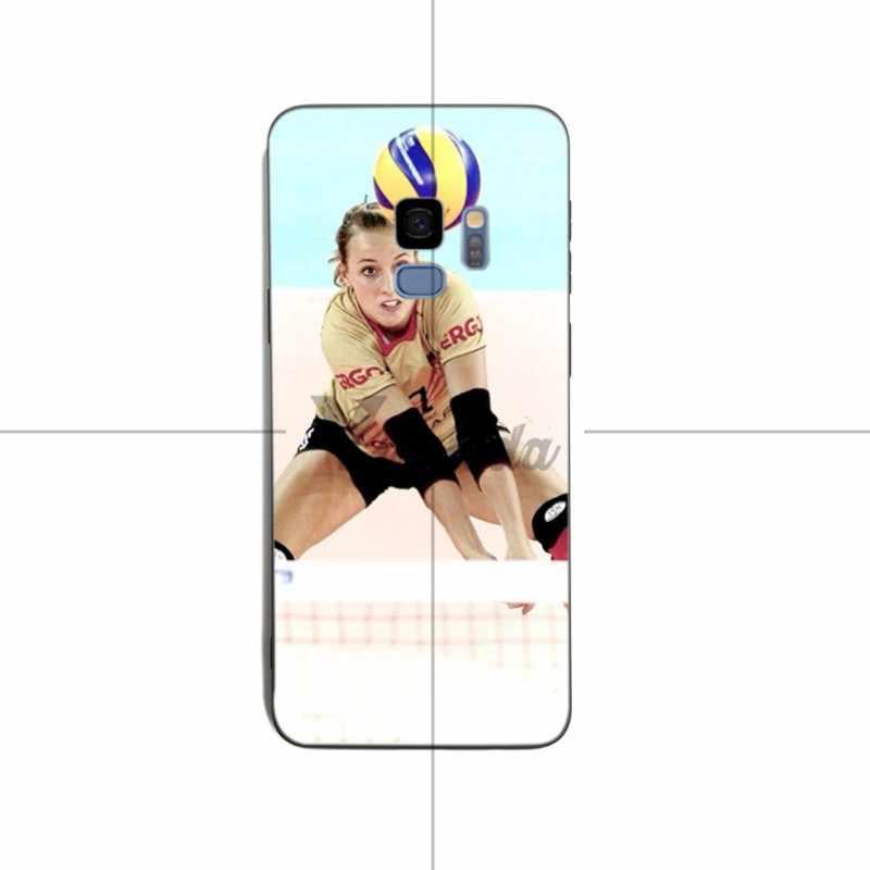 Yinuoda voleibol deportes coque suave funda para samsung S6edge S7 Edge S7 S8 S9 s8plus s9plus