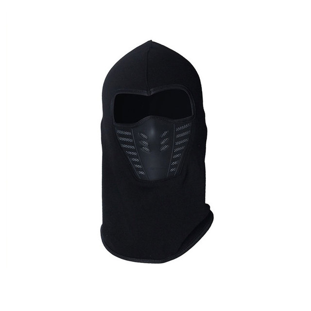 Winter Warm Motorcycle Windproof Face Mask Motocross Face masked Cs Mask Outdoor Sport Warm Bicycle Thermal Fleece Balaclavas 3