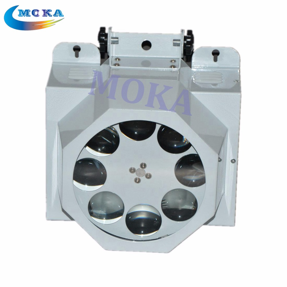 8 eyes led effect lighting RGBW Mix color LED 30W spots Light 8 Gobo CREE lamp DMX Stage light