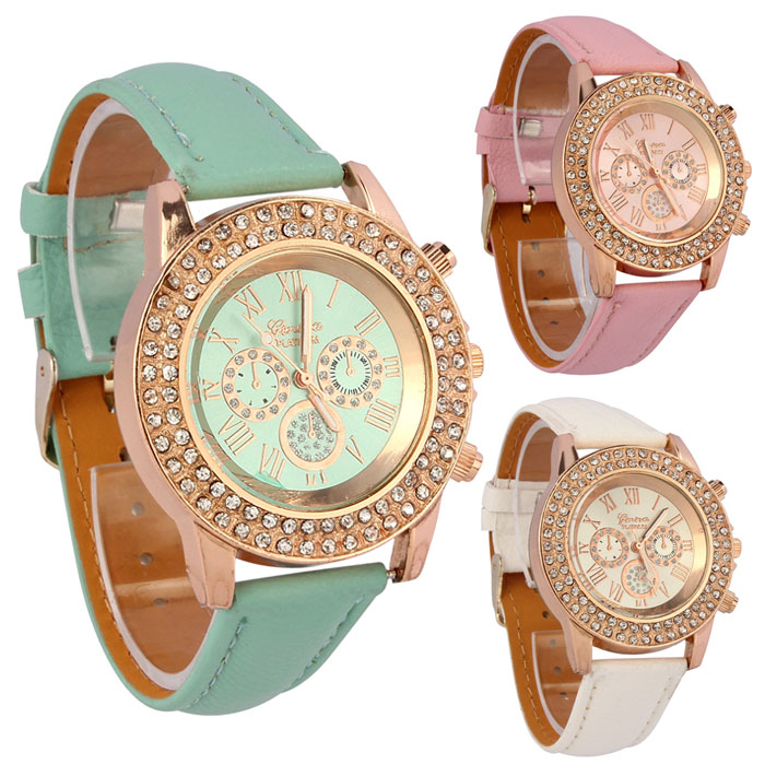 Quartz Wrist Watches Women Hot Fast Shipping <font><b>Fashion</b></font> Wholesale <font><b>Unisex</b></font> <font><b>Montre</b></font> <font><b>Femme</b></font> <font><b>Reloj</b></font> <font><b>Mujer</b></font> <font><b>Leather</b></font> Stainless Men's Watch @F image