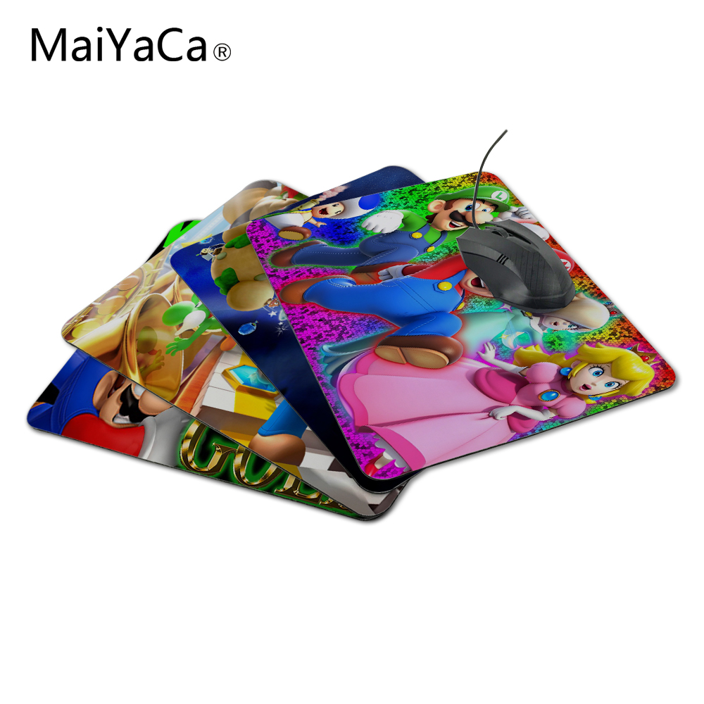 MaiYaCa super mario d world 사용자 정의 마우스 패드 컴퓨터 마우스 패드 Over Over Mouse Mouse Pad