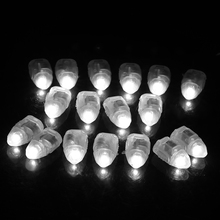 Hot 50X LED Balloon Lights Colour Light Paper Lantern Lamp Glow Wedding Party Six colors available Party Wedding Decoration
