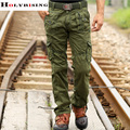 2017 men's cargo camouflage pants fashion men 4 different color high quality soft cool man pants