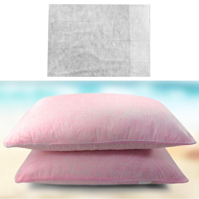 Disposable Pillow Case Quilt Cover Single Bed Sheet Bath Towel for Hotel Sheet Bath Towel Toilet Seat Cushion for Hotel Travel