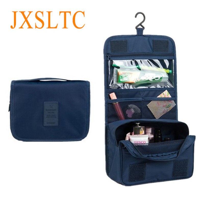 Women's Travel Portable Waterproof Cosmetic Bag Beautician Hanging Toiletry Bags Make Up Organizer Men Women Makeup Toilet Bag