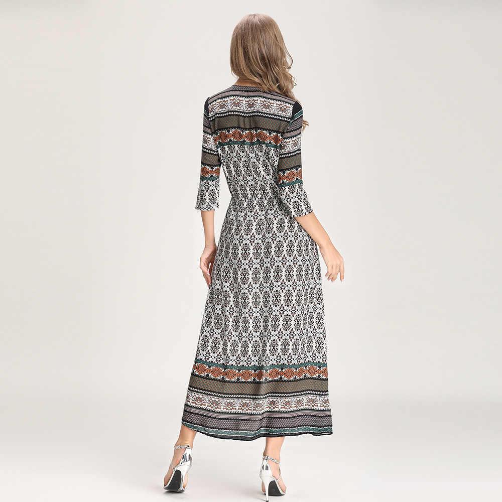Сексуальный длинный макси платье для женщин 2019 лето vestidos с разрезом сбоку бандажный сарафан ночной клуб вечерние платья v-образный вырез до середины икры