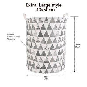 Image 4 - Panier à linge pliable de grande capacité